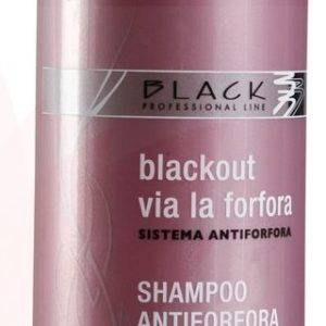 Šampón na lupiny 500ml Black Antiforfora/Anti-Dandruff Shampoo