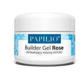 PAPILIO modelovací UV LED gél ROSE 30ml