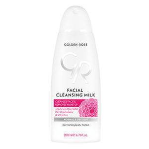 GOLDEN ROSE Odličovacie mlieko 200ml FACIAL CLEANSING MILK